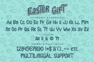 Easter Gift in Display Fonts