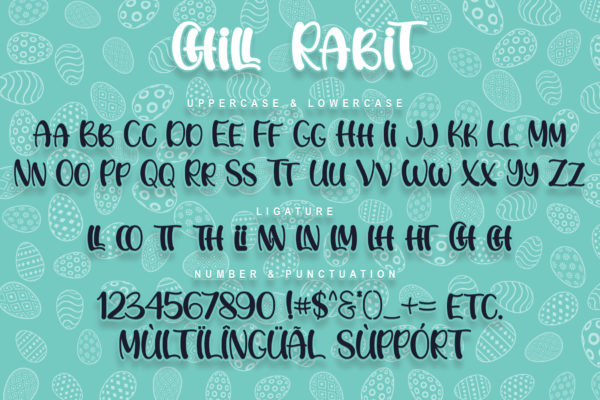 Chill Rabit in Display Fonts