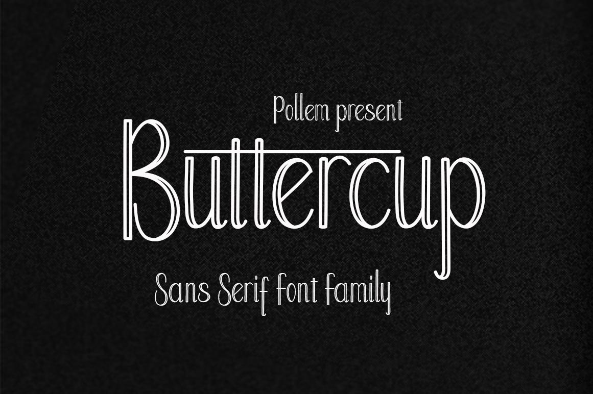 Buttercup in Serif Fonts