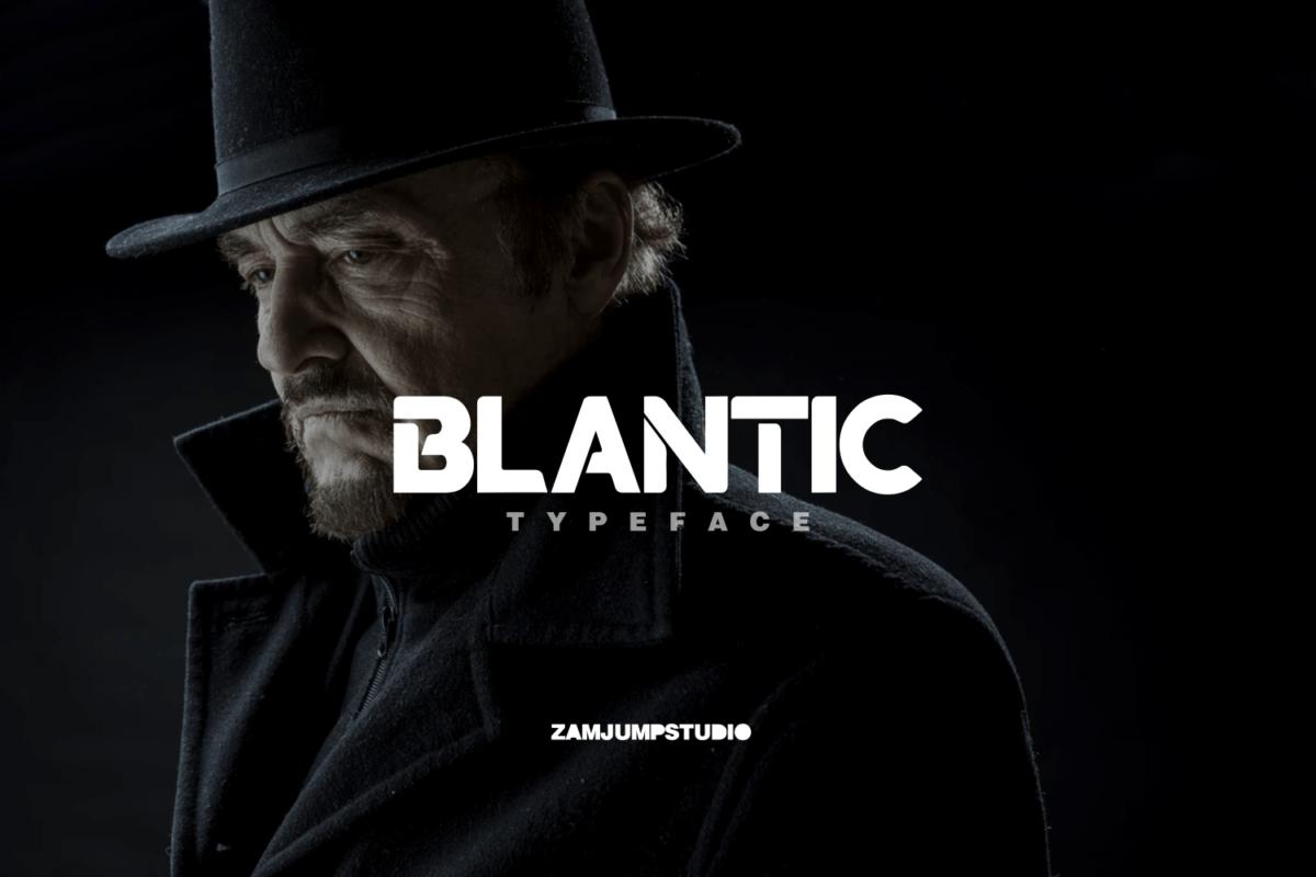 BLANTIC in Sans Serif Fonts