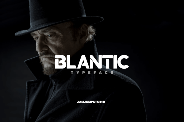 BLANTIC in Blackletter Fonts