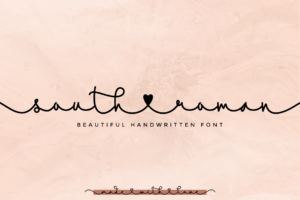 South Roman in Decorative Fonts