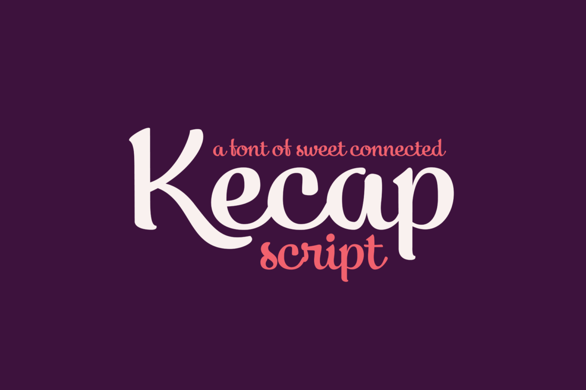 Kecap Script in Script Fonts