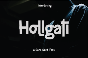 Hollgati in Blackletter Fonts