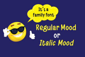 Daily Mood in Display Fonts