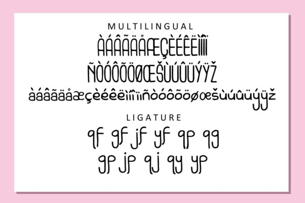 Spacemonth in Display Fonts