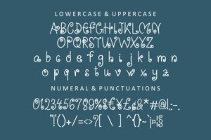 Smooth Wave in Decorative Fonts