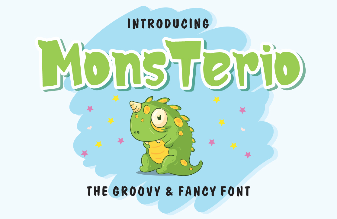 MonsTerio in Display Fonts