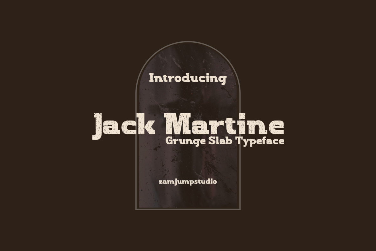Jack Martine in Display Fonts