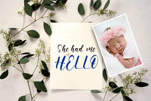 hello mom in Brush Fonts