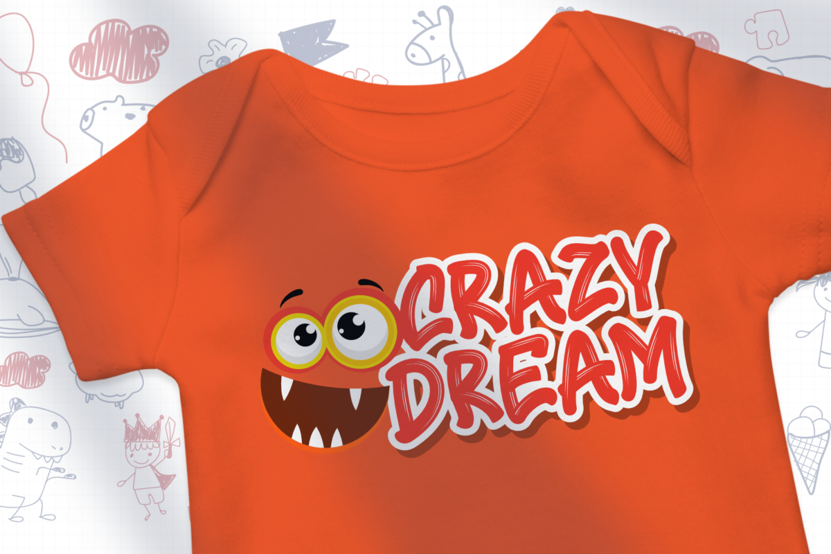 Crazy Dream in Display Fonts