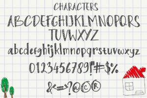 Kids Touch in Display Fonts