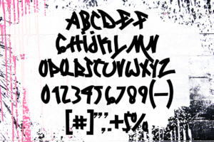 Locked Monster in Display Fonts