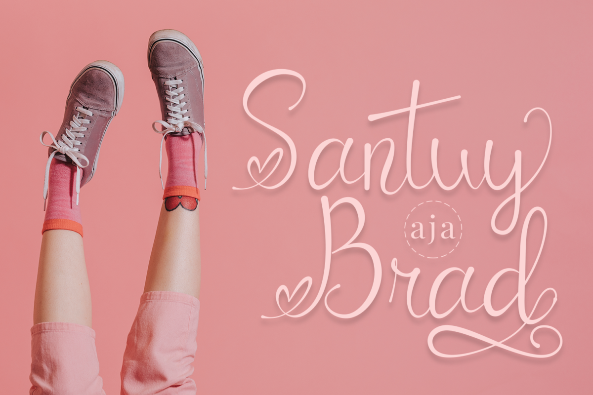 Catrina - Modern Script Font in Calligraphy Fonts