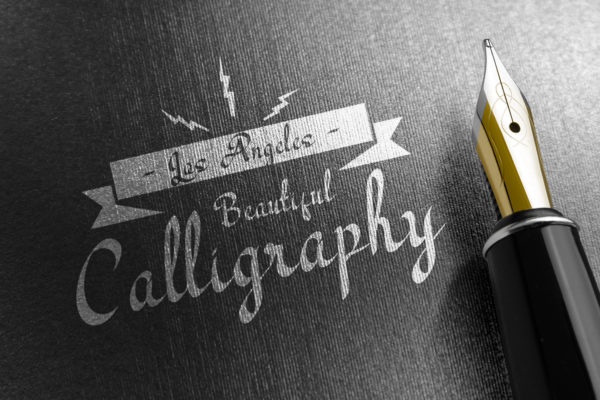 Los Angeles - Modern Calligraphy Font in Brush Fonts