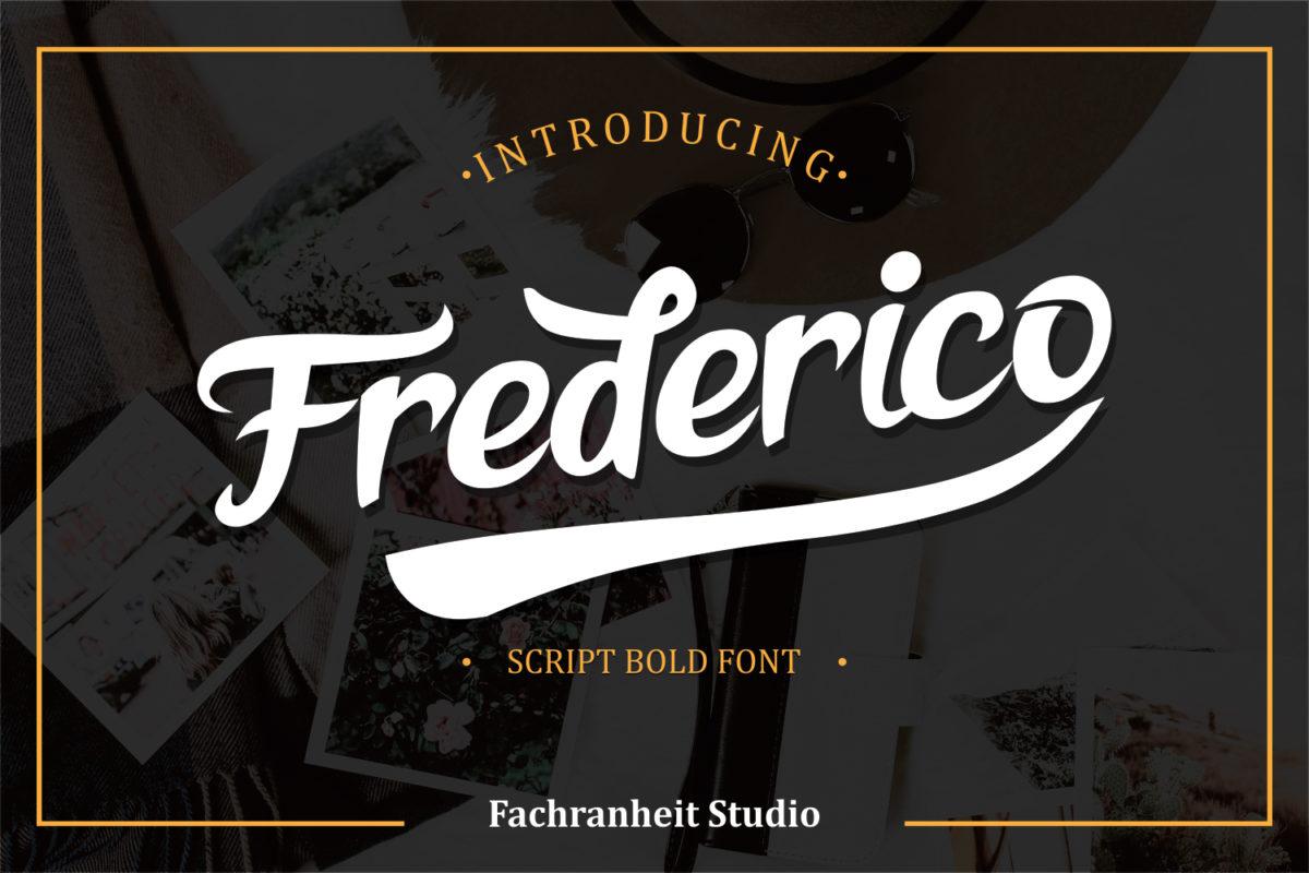 Frederico in Script Fonts