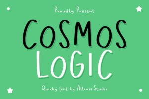 Cosmos Logic - Quirky Font in Display Fonts