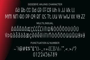 Goodbye Anjing - a Tall Handwritten Font in Decorative Fonts
