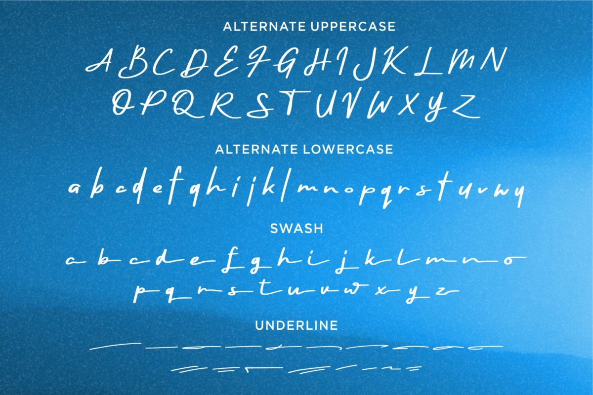 Rayleigh - Handwritten font in Calligraphy Fonts