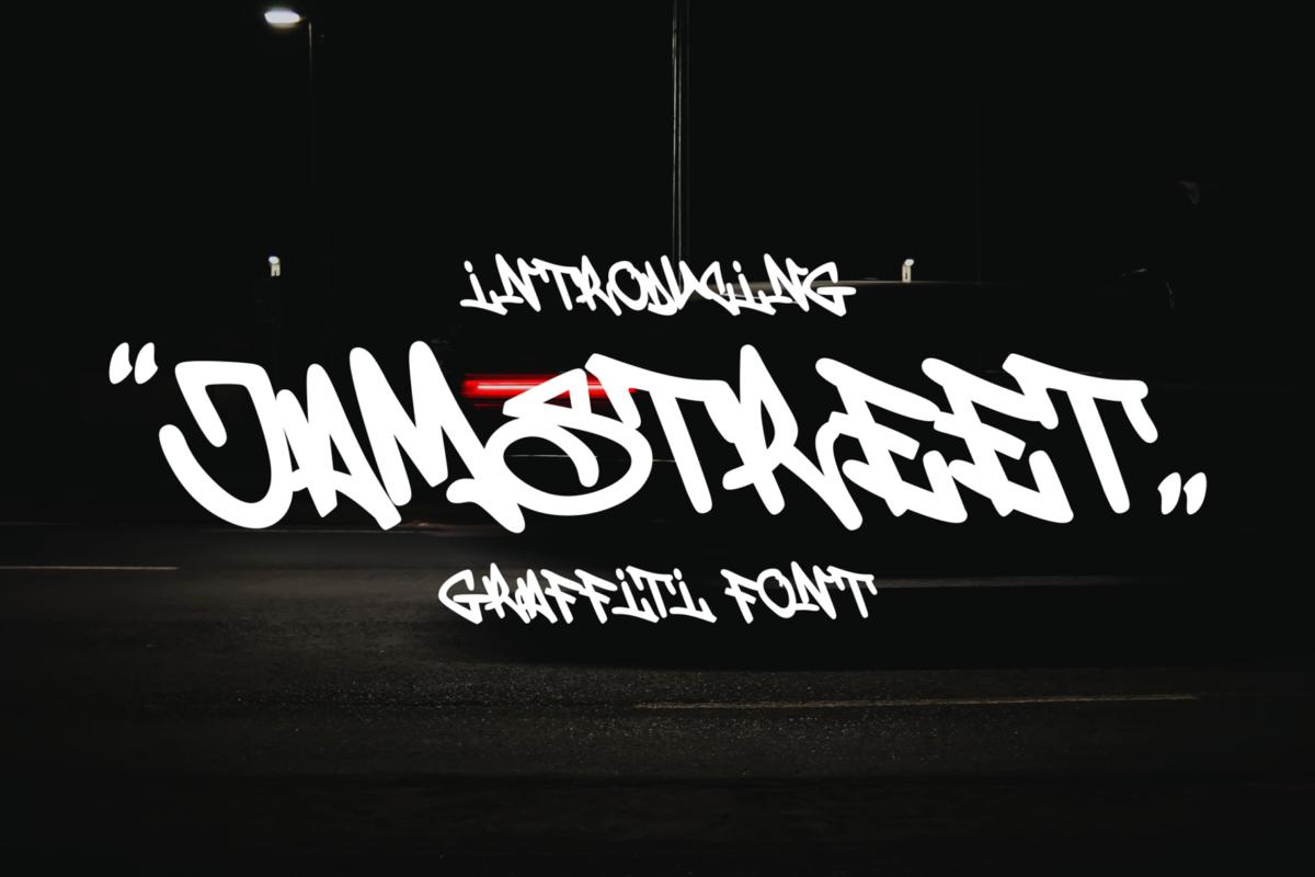 Jamstreet Graffiti in Script Fonts