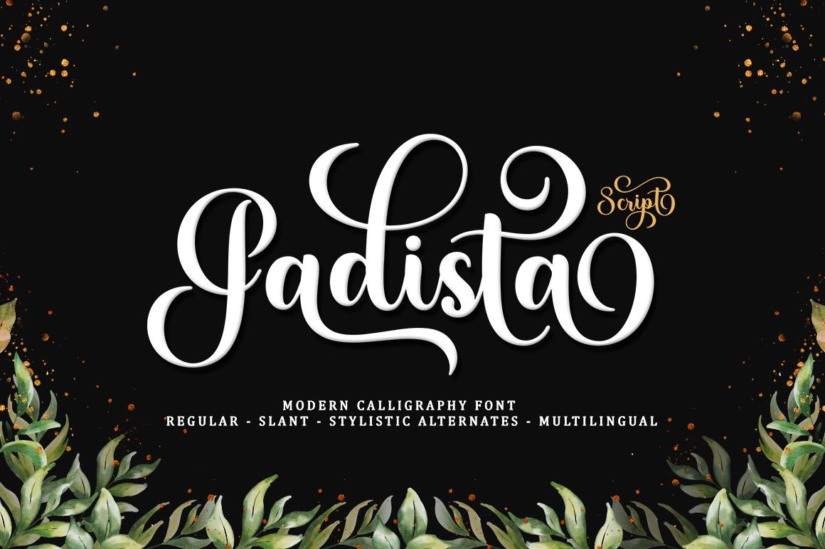 Gadista Script in Script Fonts