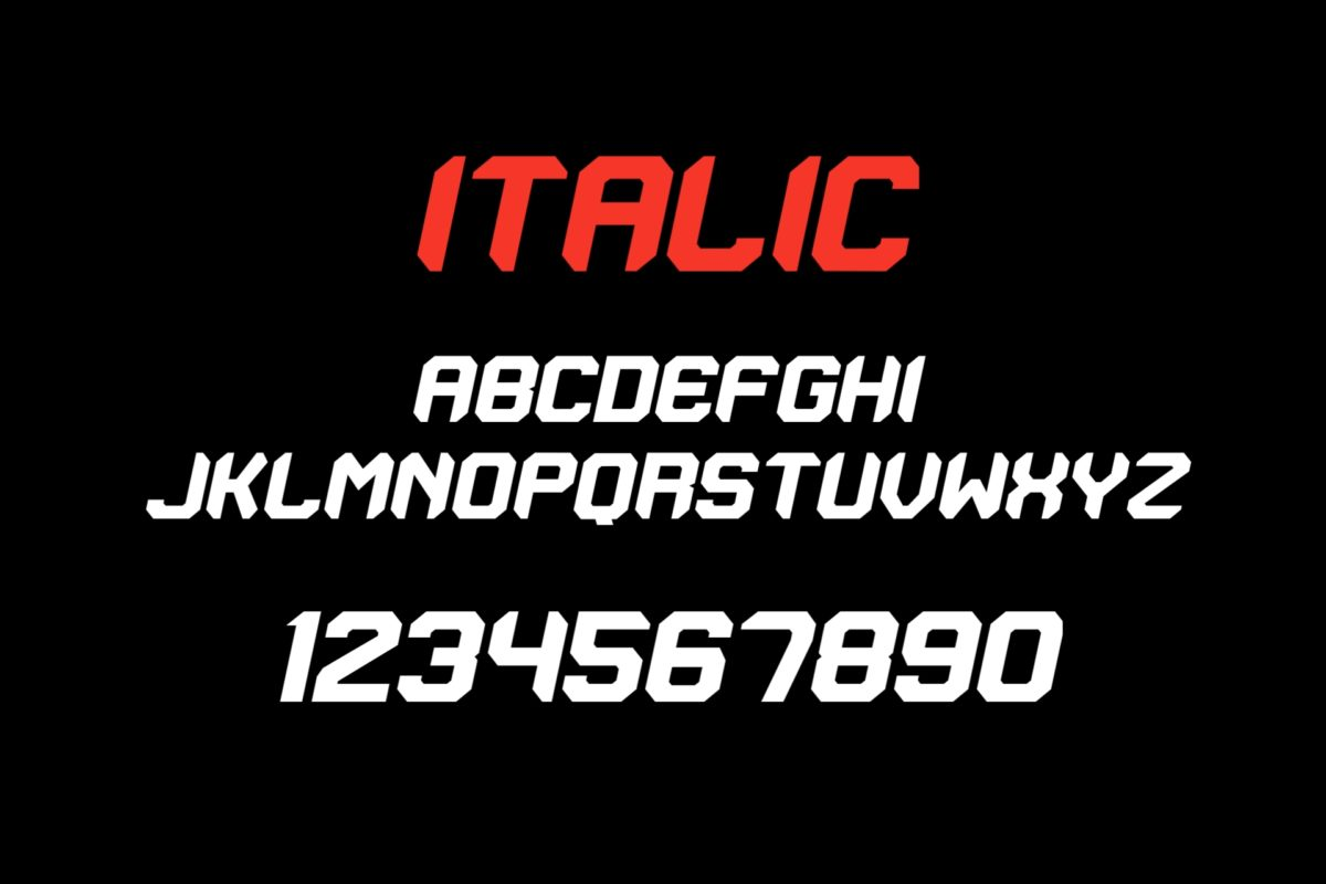 Adrenal in Display Fonts