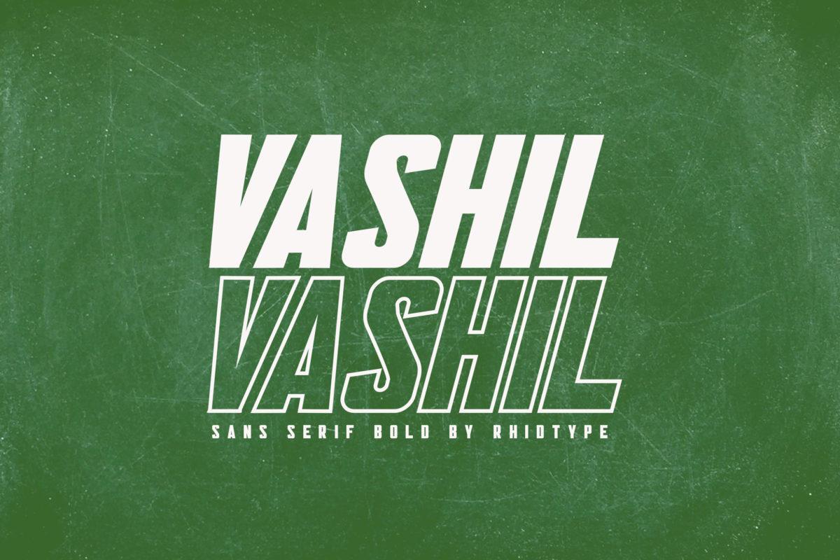 VASHIL in Decorative Fonts