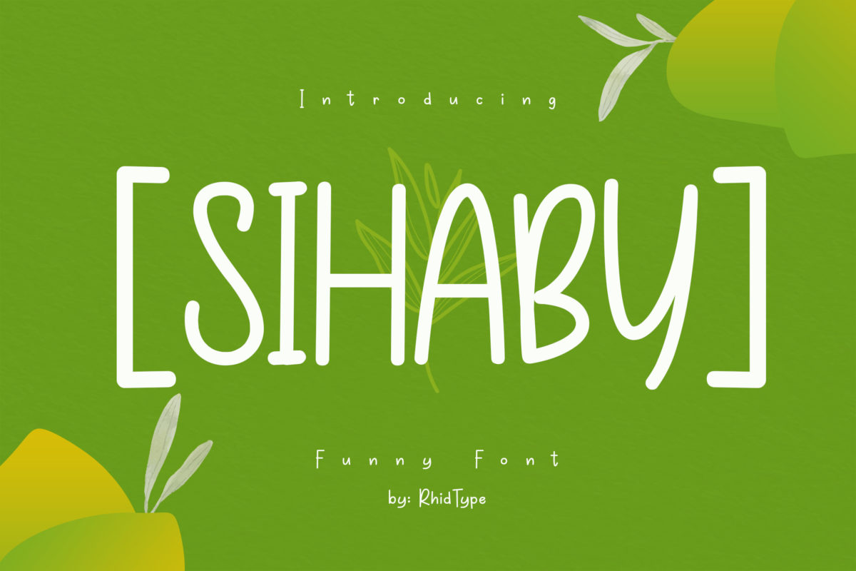 SIHABY in Display Fonts