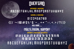 OVER'GRID in Display Fonts