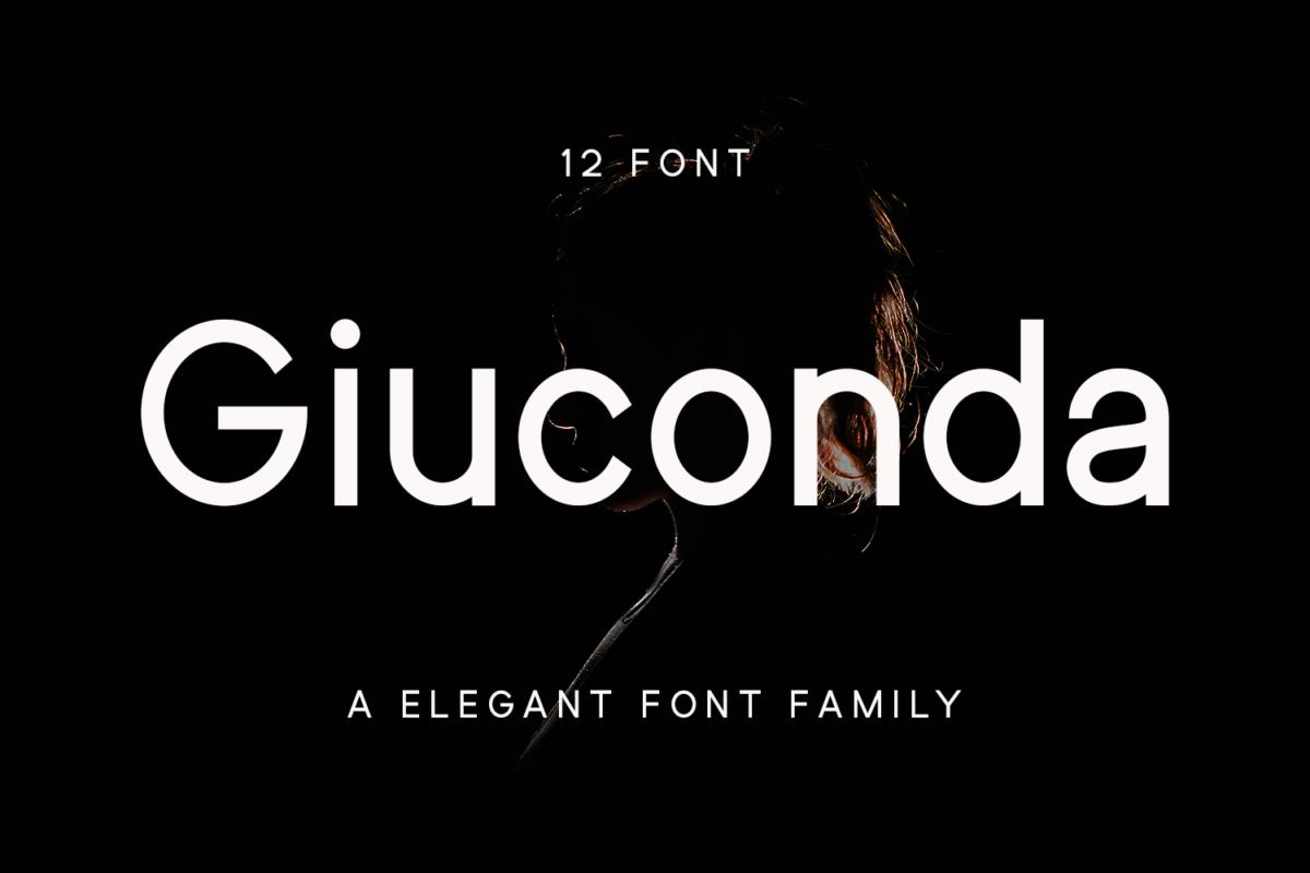 Giuconda in Sans Serif Fonts