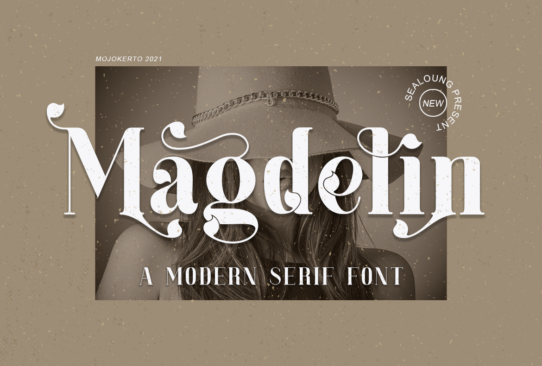 Magdelin in Serif Fonts