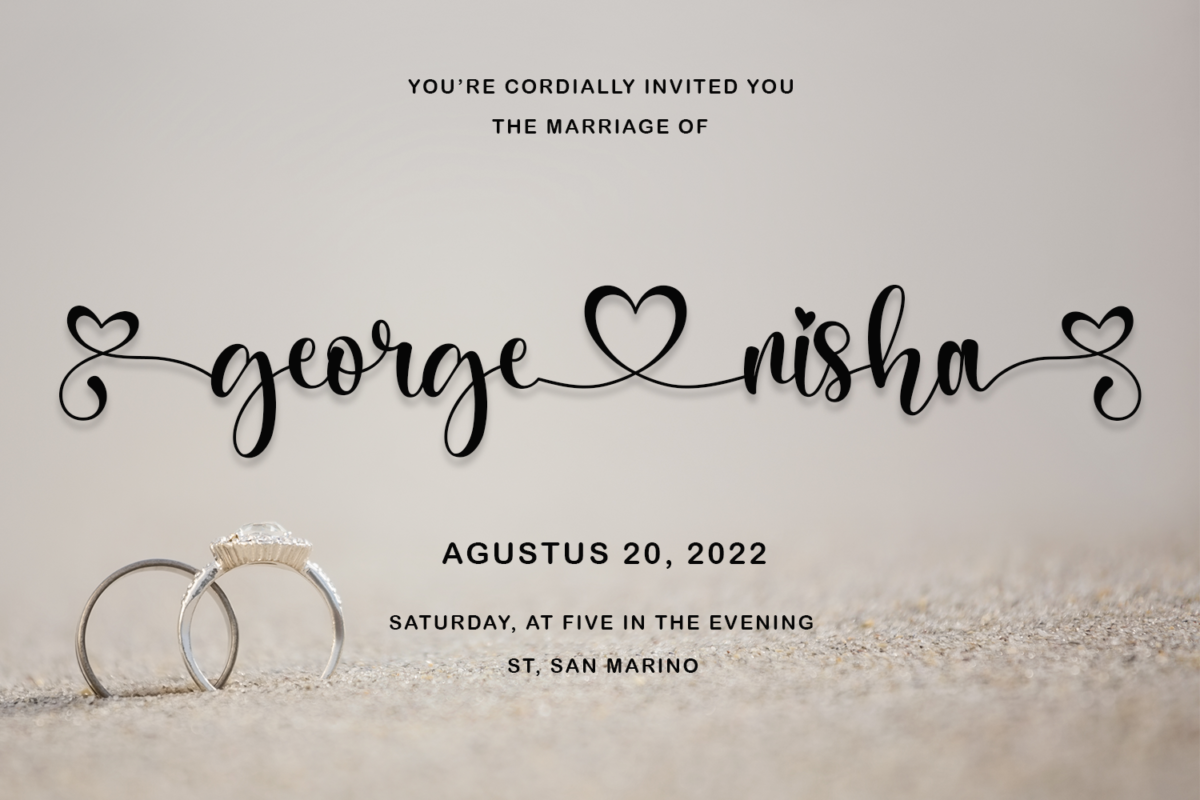 Nagista in Calligraphy Fonts