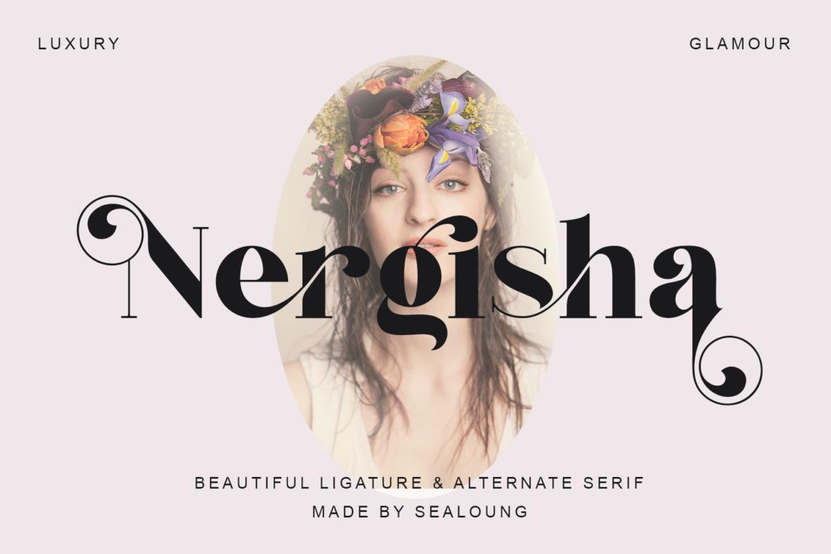 Nergisha in Serif Fonts