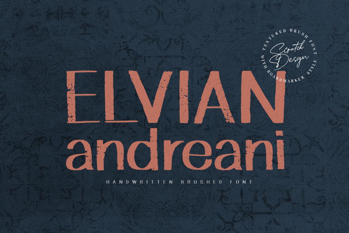 Elvian in Blackletter Fonts