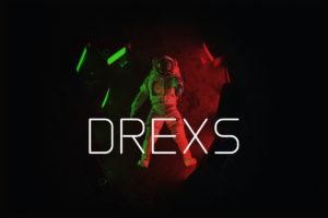 DREXS - Futuristic Font in Sans Serif Fonts