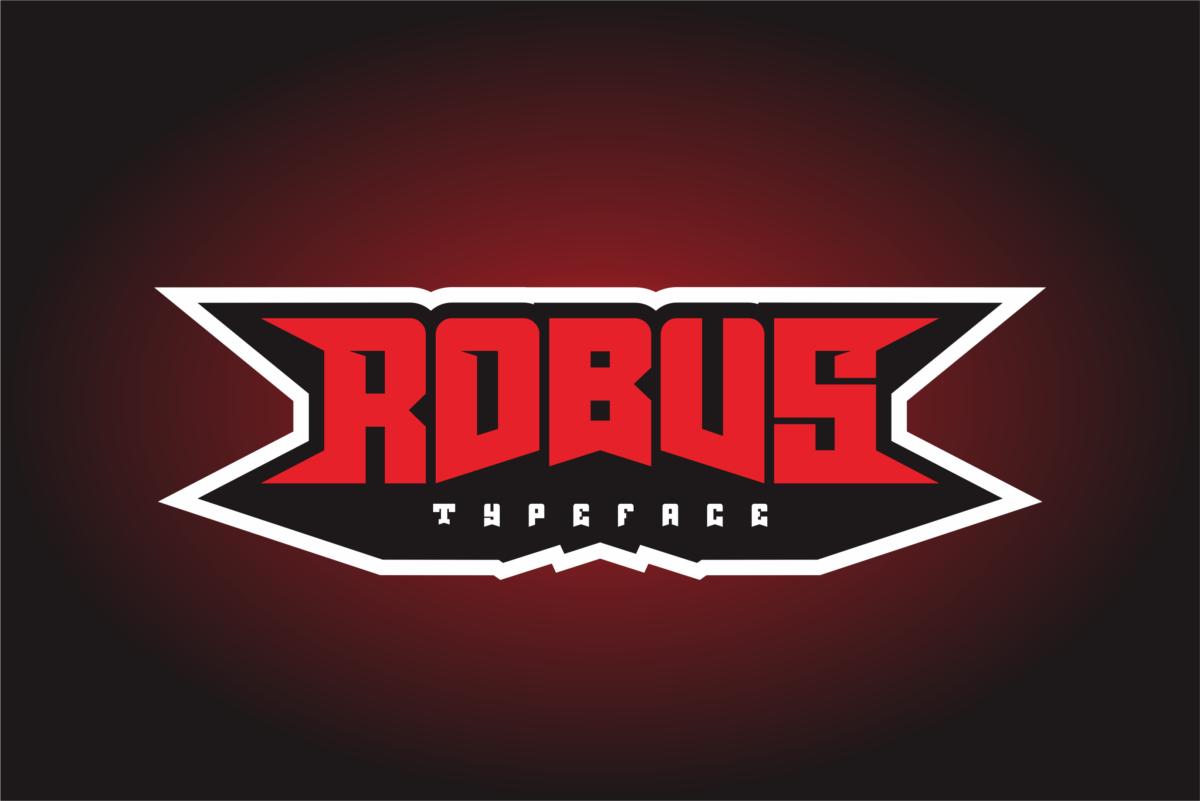 Robus - Esport Typeface in Sans Serif Fonts