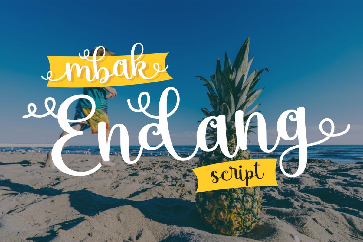 mbak Endang in Display Fonts