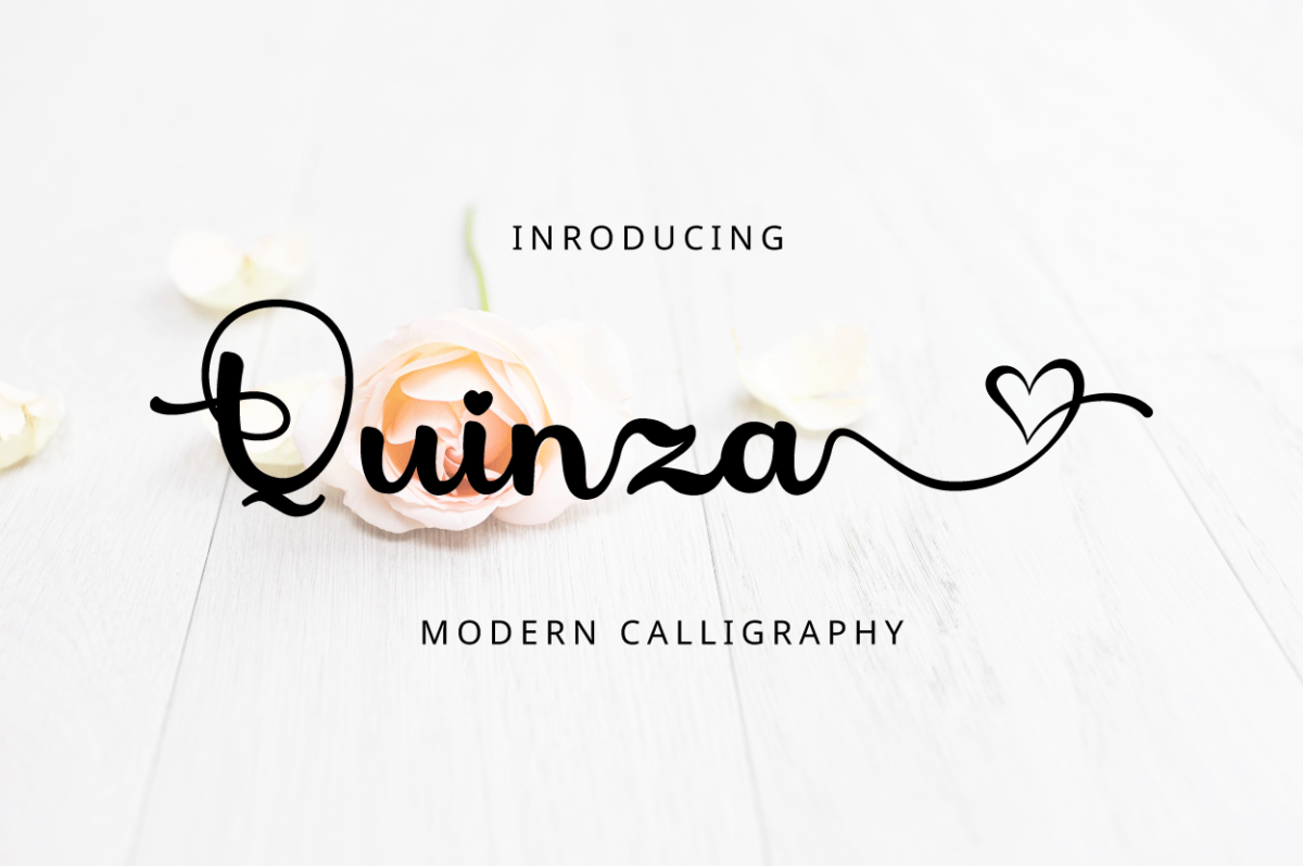 Quinza in Display Fonts