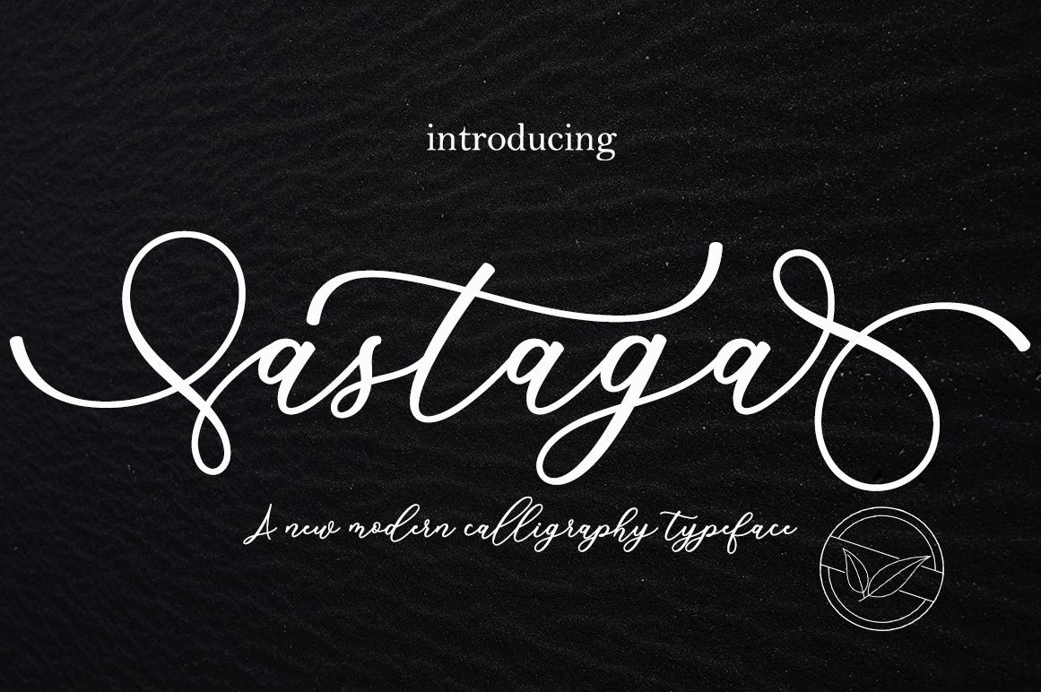 Astaga in Script Fonts