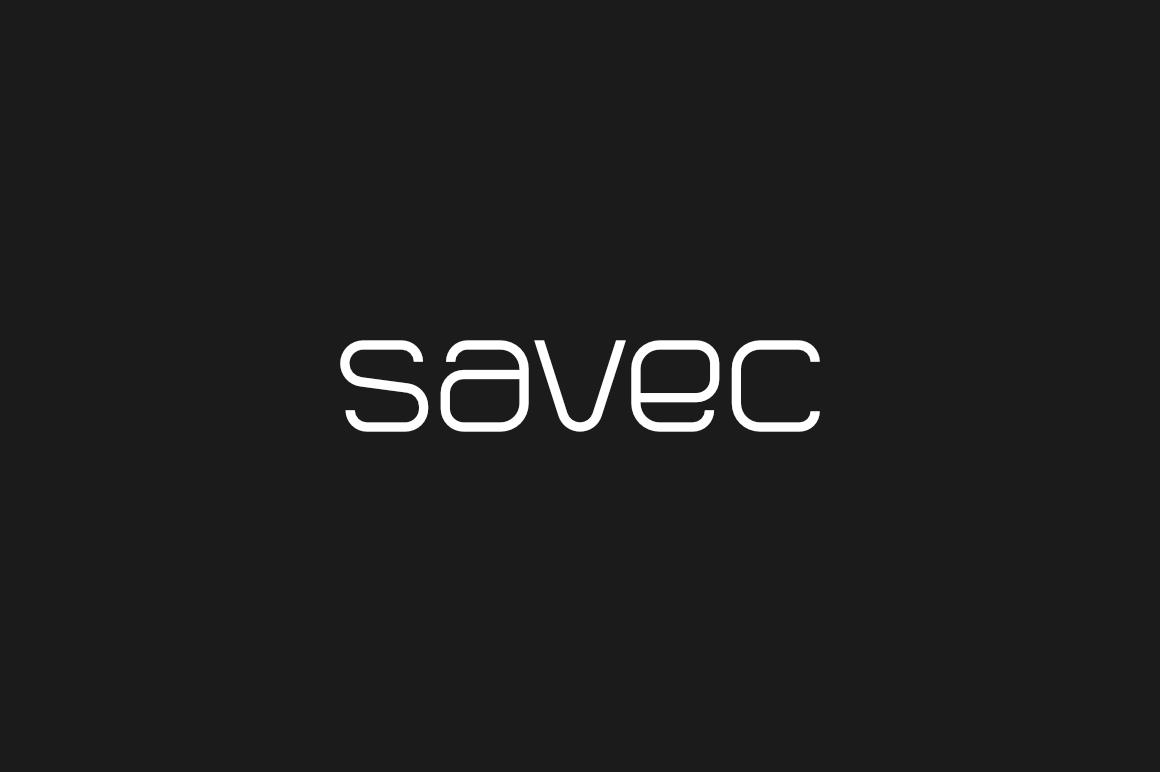 Savec - Logo Design Font in Sans Serif Fonts