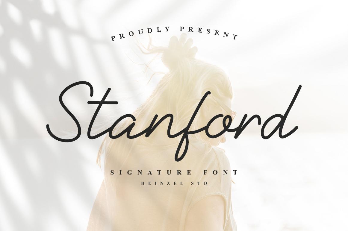 Stanford in Script Fonts