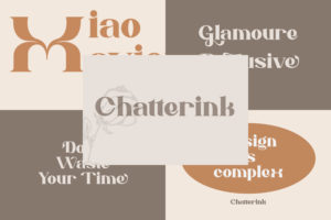 Chatterink in Serif Fonts
