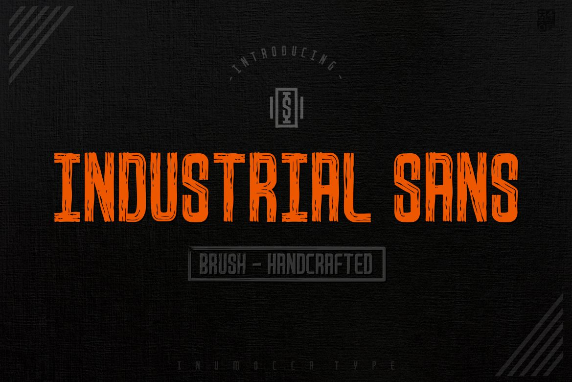 Industrial Sans in Display Fonts