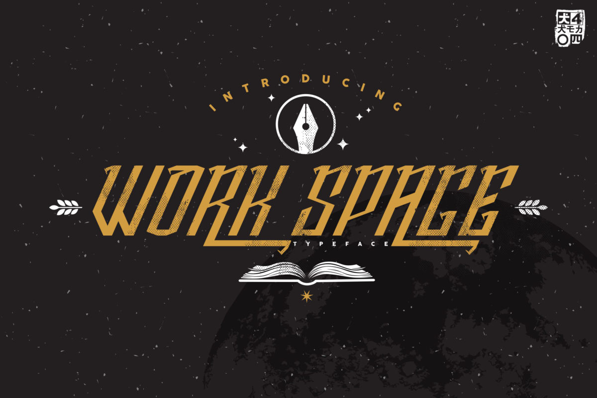 Work Space in Display Fonts