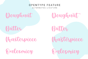 Casking Cream Font in Display Fonts