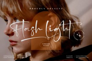 Flash Light - Stylish Signature Font in Handwriting Fonts