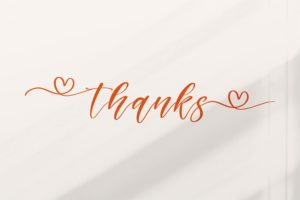 Maghdela - Connecting Love Font in Calligraphy Fonts