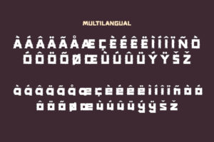 Cagtus in Display Fonts