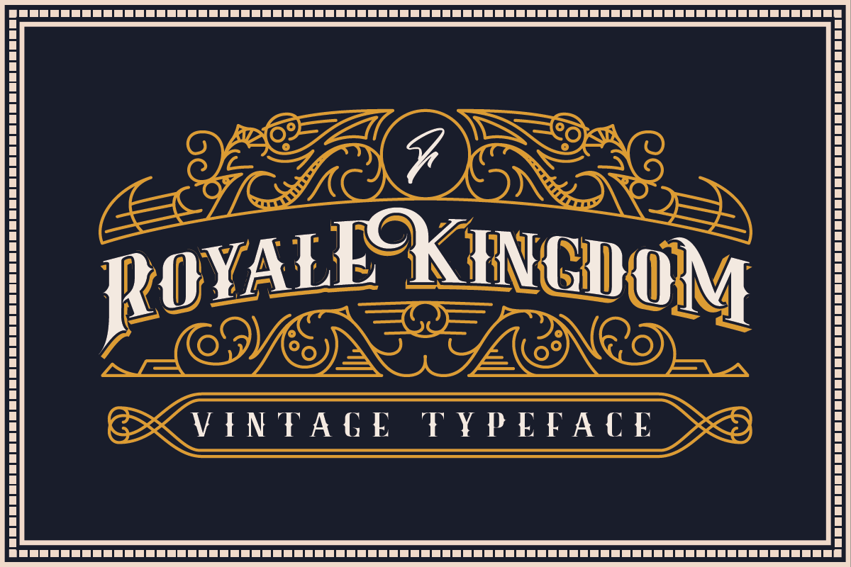 Royale Kingdom - Vintage Typeface in Decorative Fonts