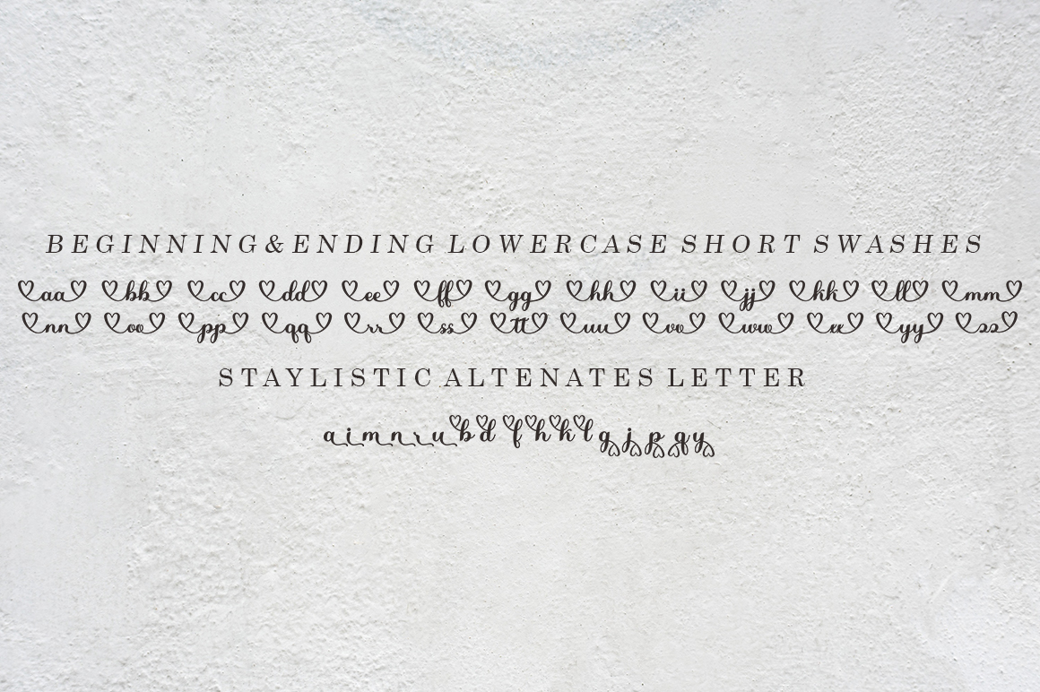 Pretty Sweet in Calligraphy Fonts